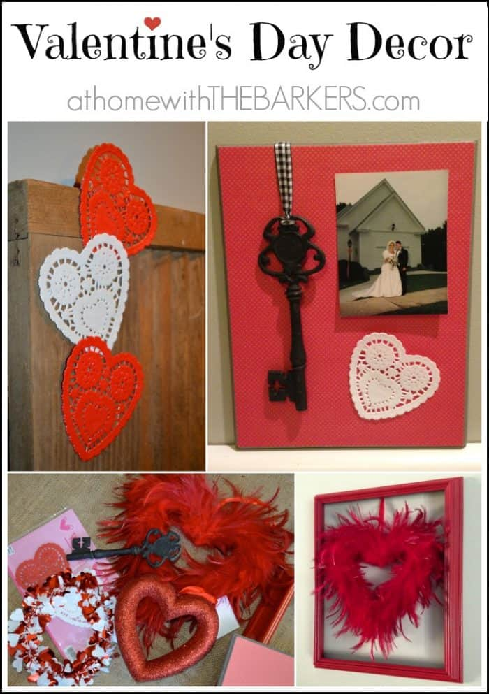 Valentine 39 s day decor for Home decorations for valentine s day