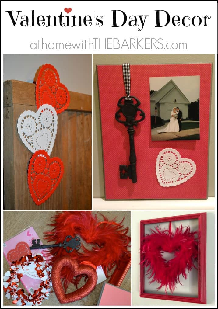Valentine\u002639;s Day Decor  At Home with The Barkers