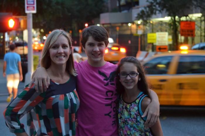NYC Trip with Teens