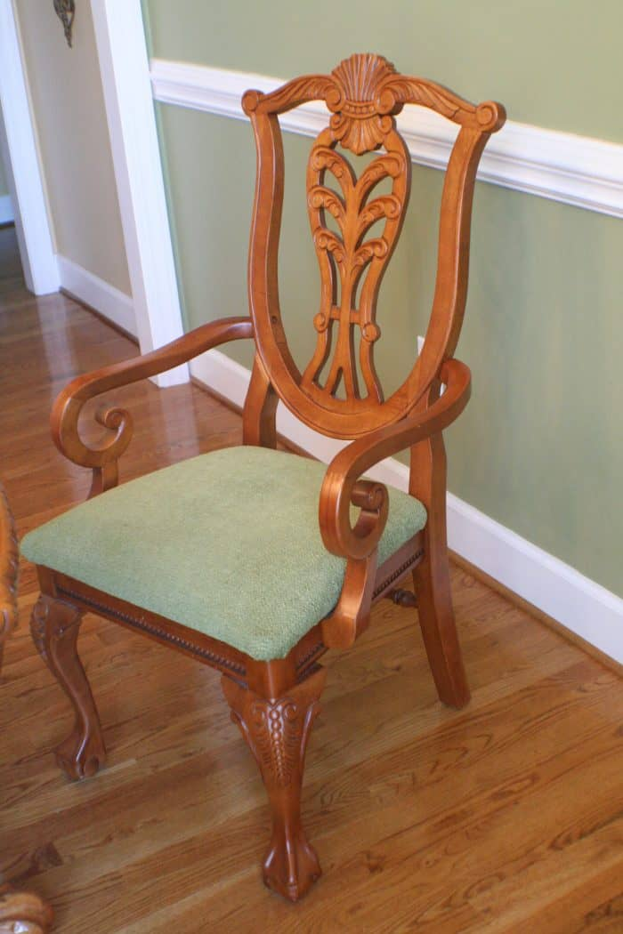 Dining Chair Before Paint