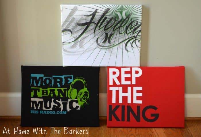 Easy T-shirt Art - At Home with The Barkers