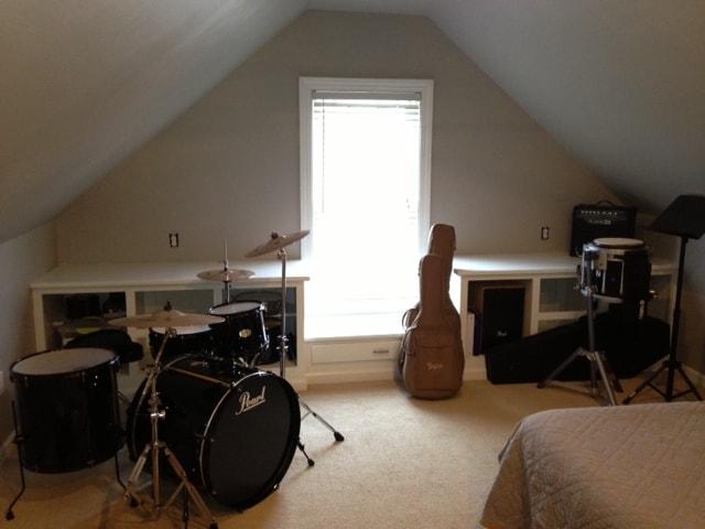 Teen son room makeover progress