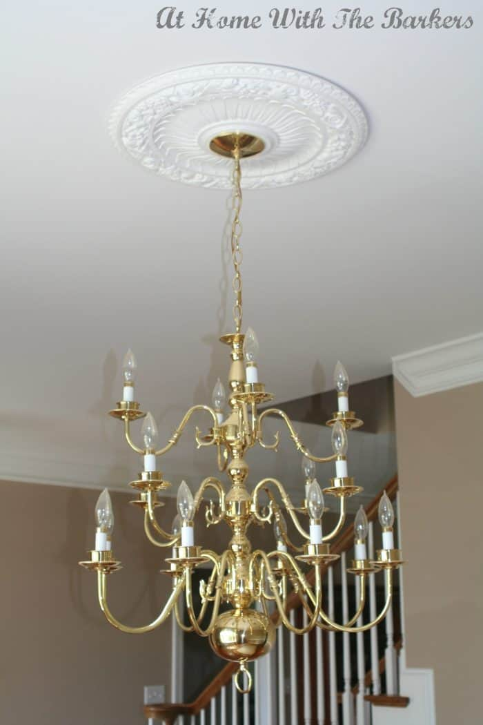 Chandelier Before
