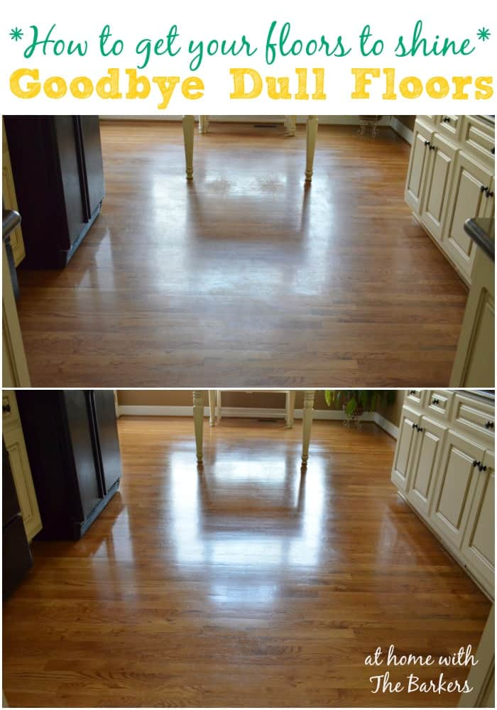 Dull Worn Out Hardwood Flooring Is Very Expensive To Have Refinished.  Cleaning Them Quick And