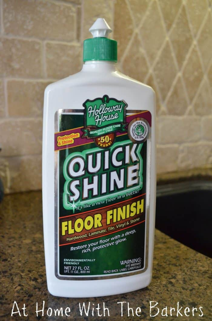 The best product to clean dull worn out floors.