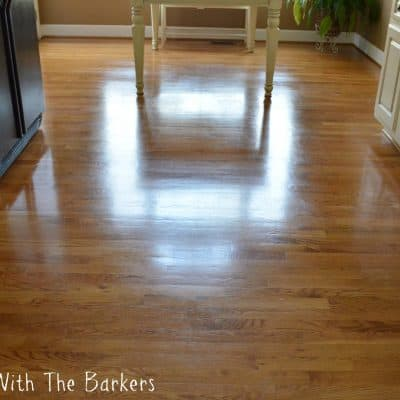 How to get dull hardwood floors to shine after years of traffic.