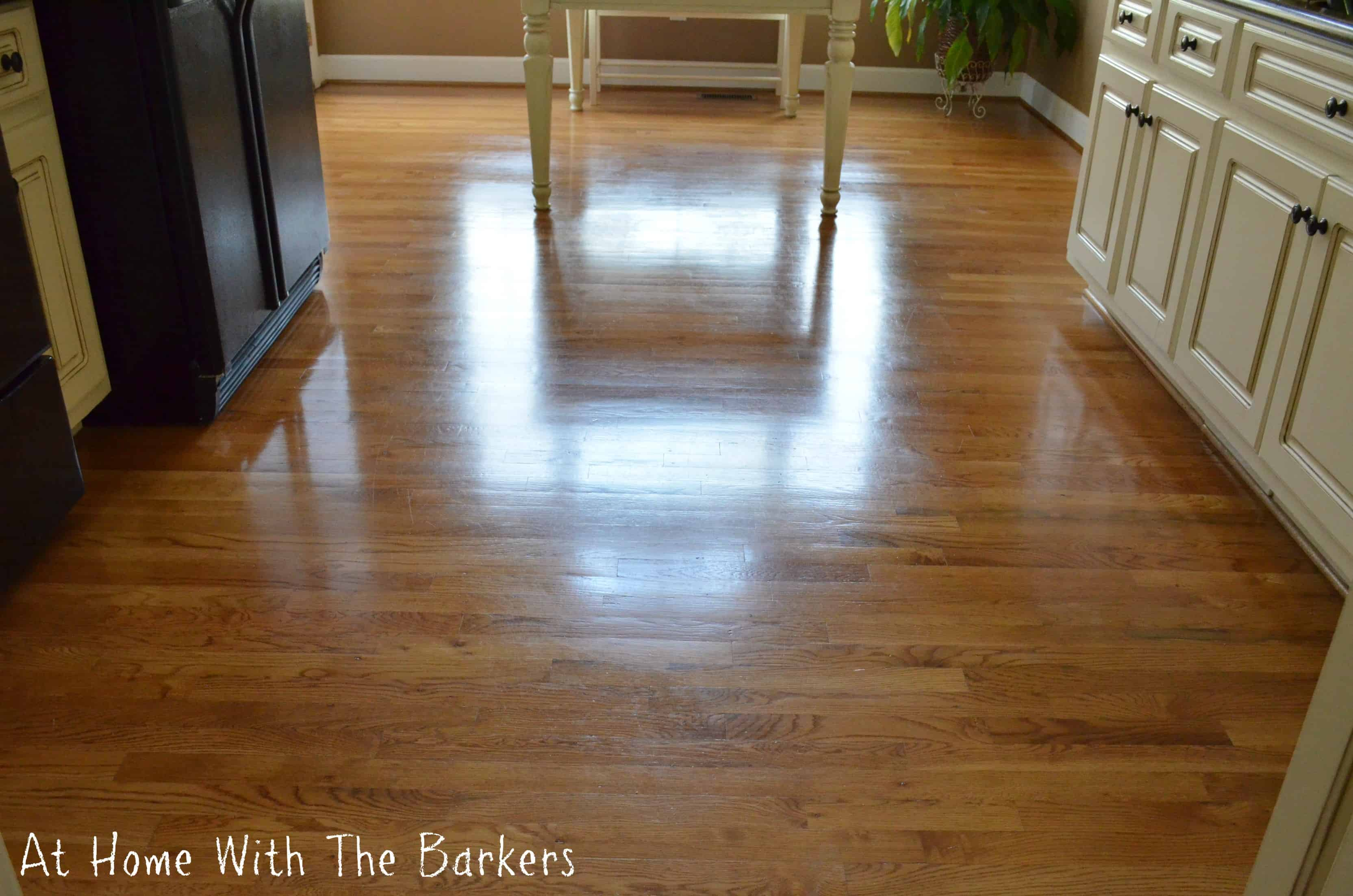 How to get your floors to shine at home with the barkers for Hardwood floors dull after cleaning