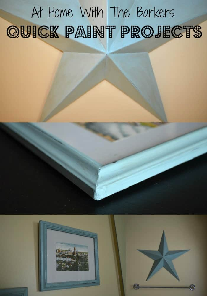 Quick Paint Projects using Annie Sloan Chalk Paint