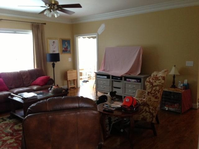 Family Room Before TV