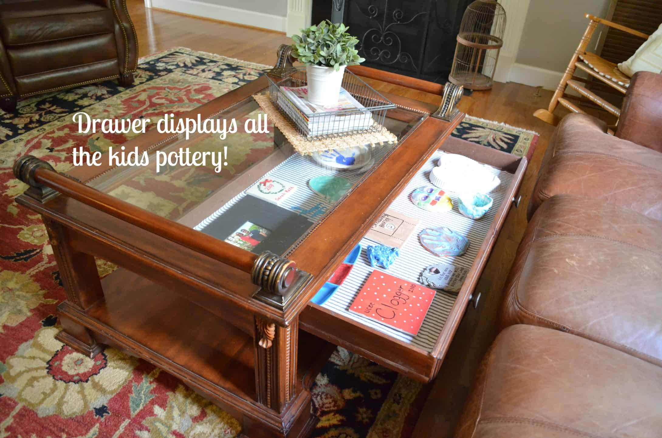 Family Room Coffee Table At Home With The Barkers