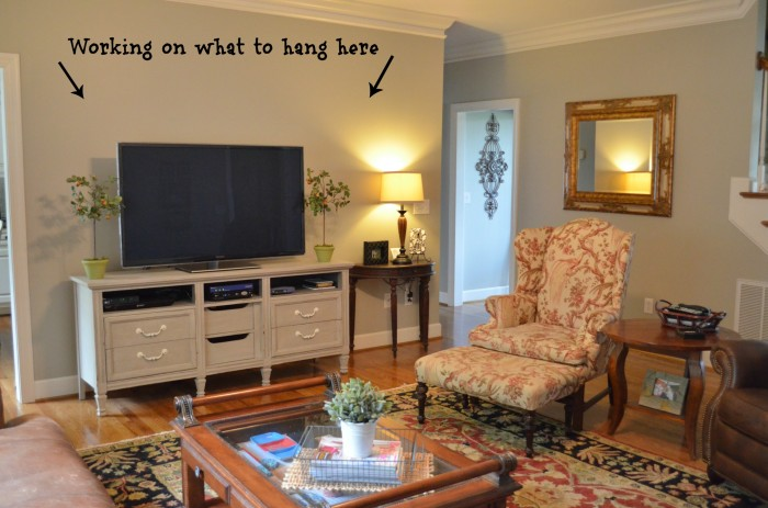 Family Room Tour -At Home with The Barkers
