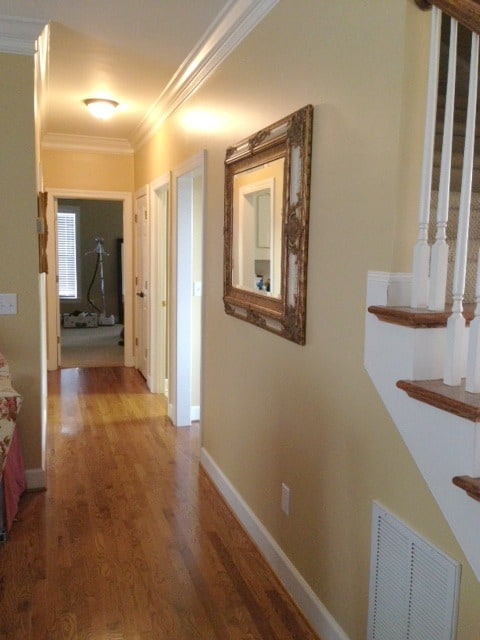 Family Room and Hall Gold