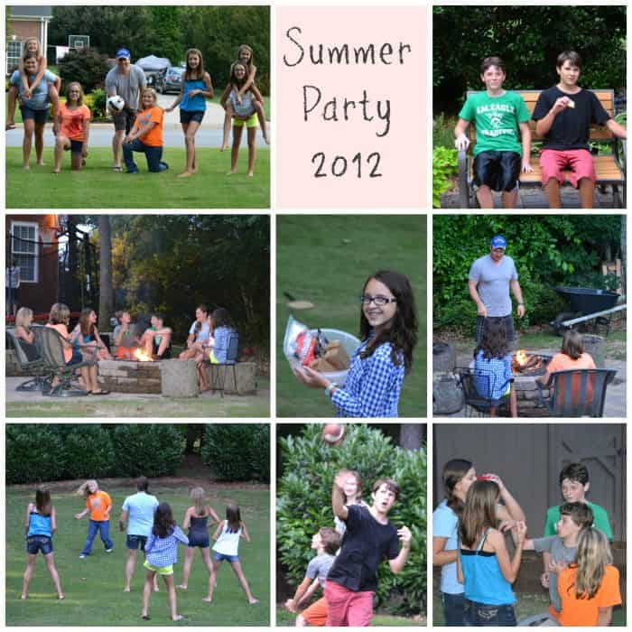 Summer Party 2012 Collage