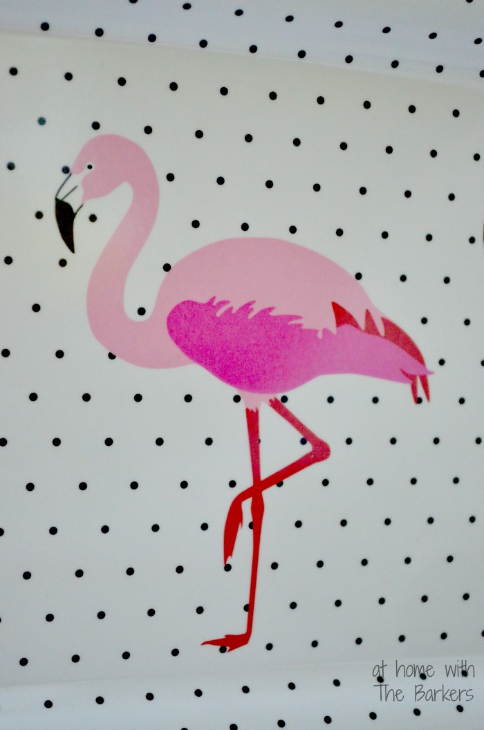 Summer Party-Pink Flamingo Platter #athomewtihthebarkers #summer