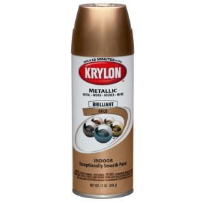 Krylon Metallic Brilliant Gold