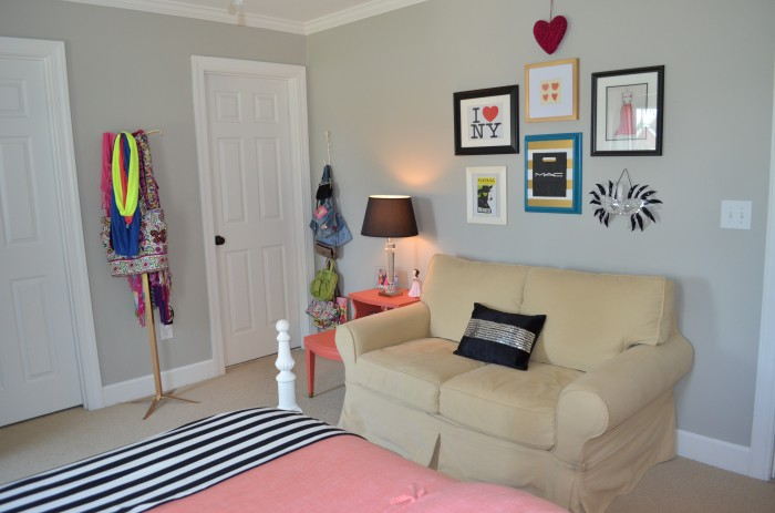 Teen Girl Room Makeover