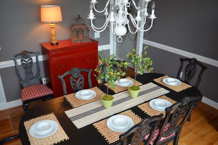 Summer Home Tour Dining Room