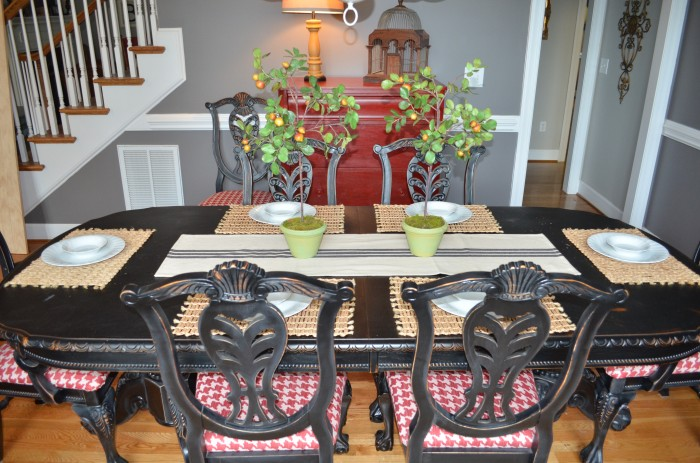 Summer Home Tour Dining Room Table