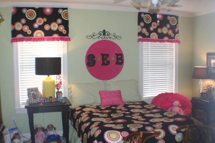 Sarah Beth's room before