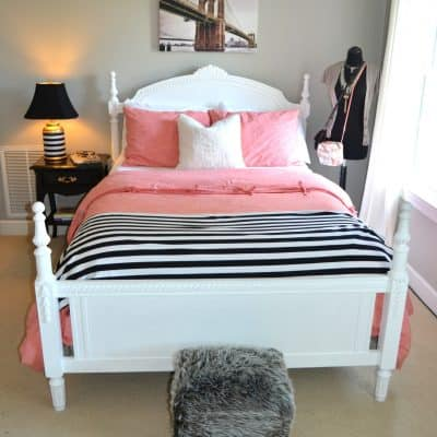 How to make your Teen Girl Happy {A room makeover}
