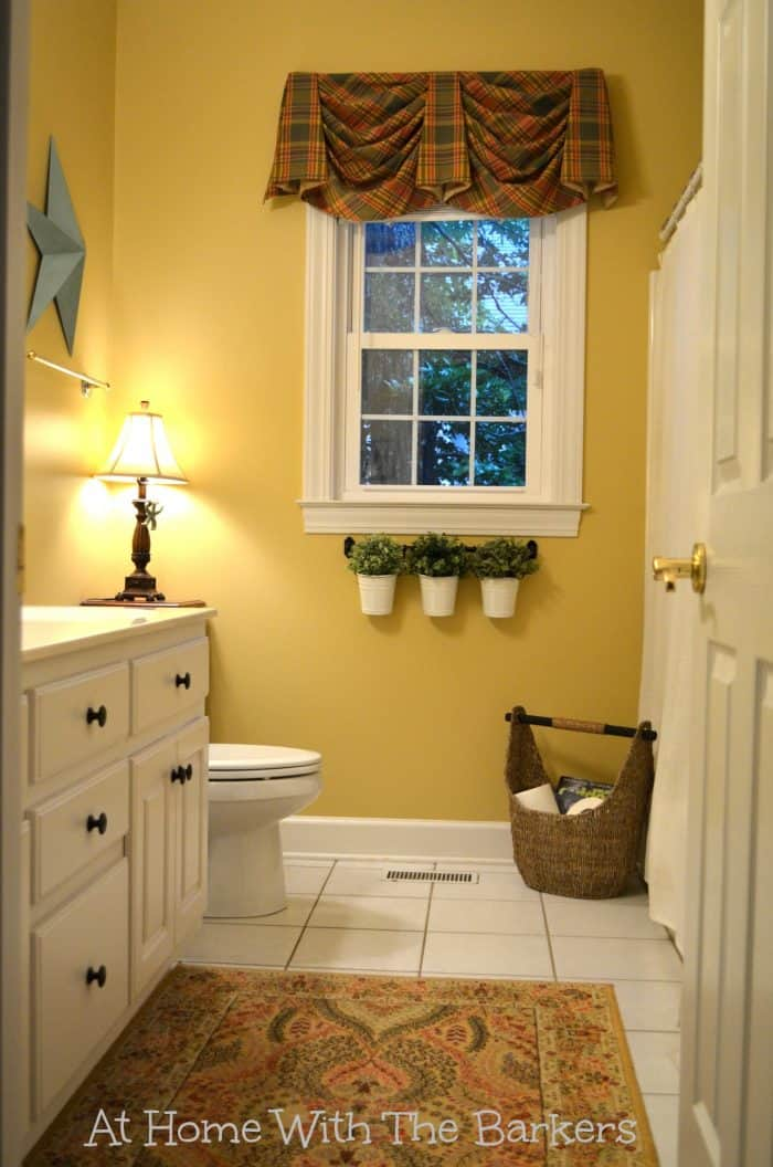 Holiday Ready Room Refresh Before / BEHR Marquee Paint / athomewiththebarkers.com