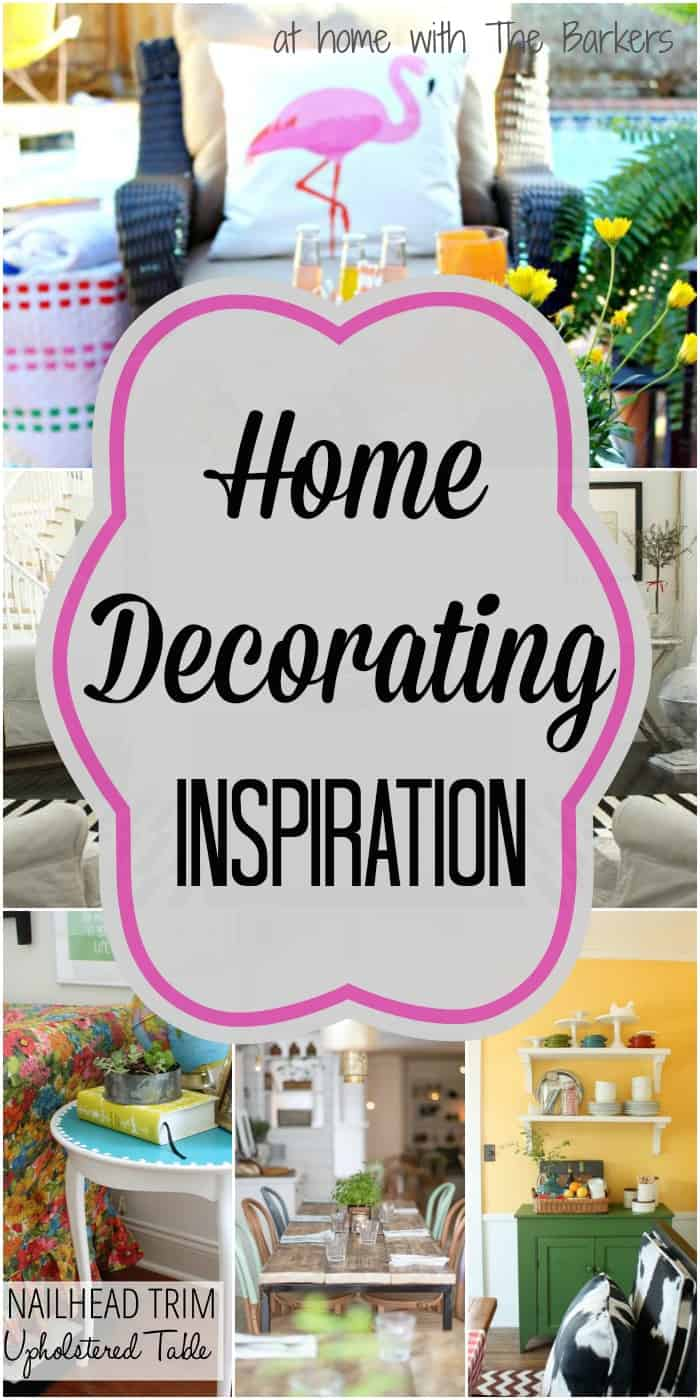 Finding Inspiration-Home Decorating