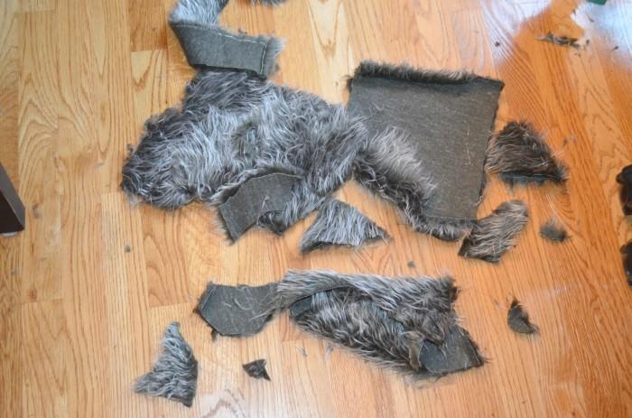 Stool Fur Scraps
