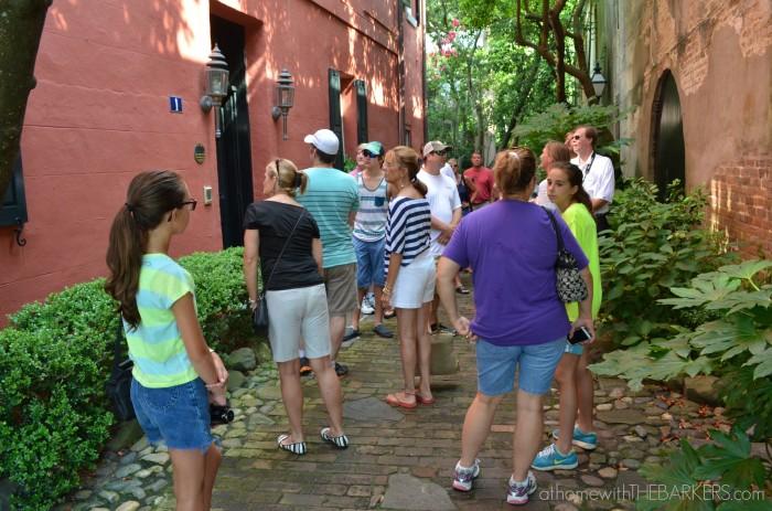 Charleston Walking Tour Group