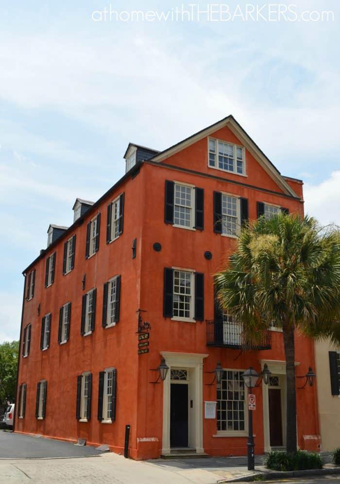 Charleston Walking Tour Orange House
