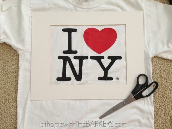 I heart NY artwork supplies