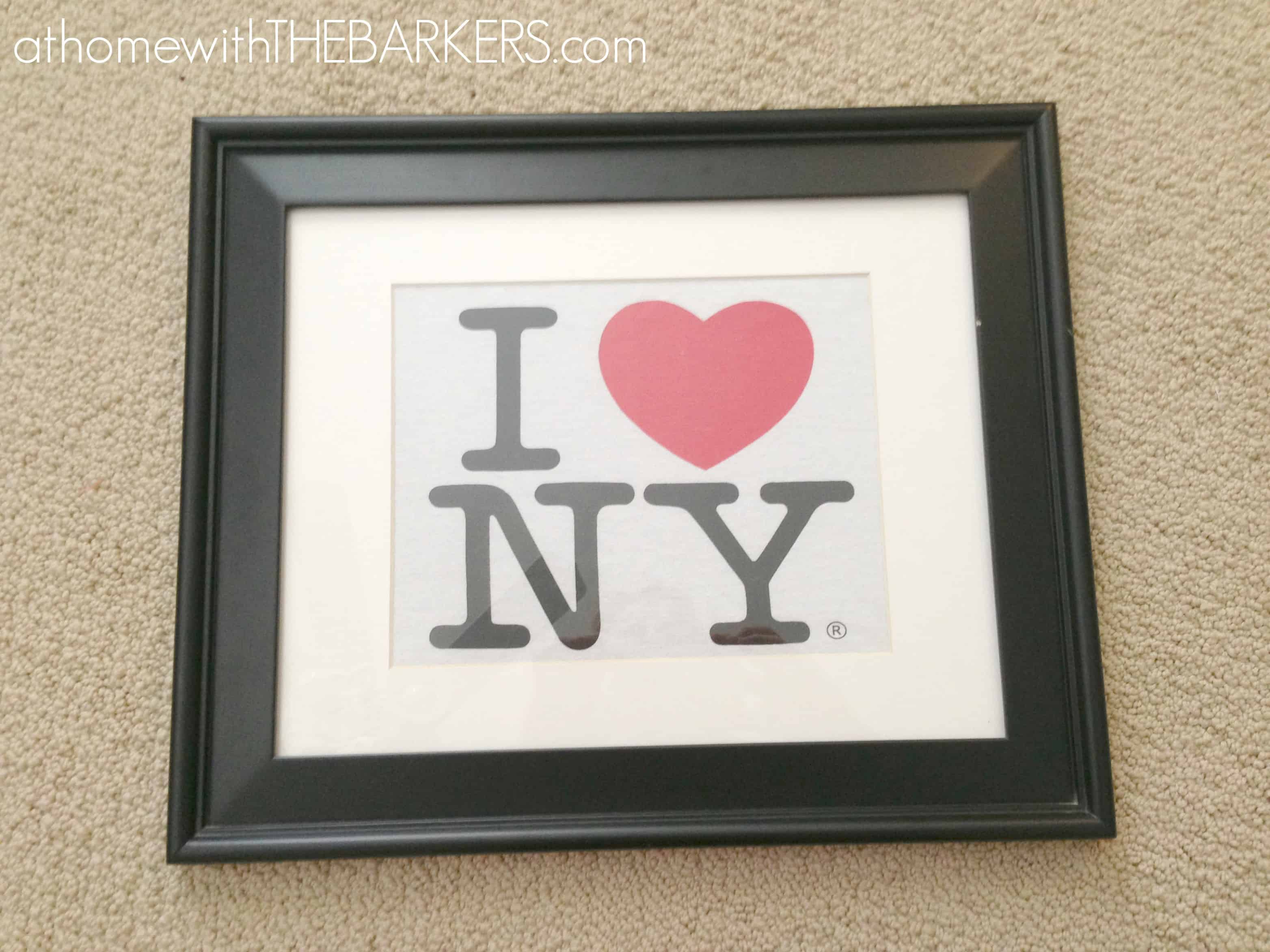 I Heart NY Artwork Tutorial
