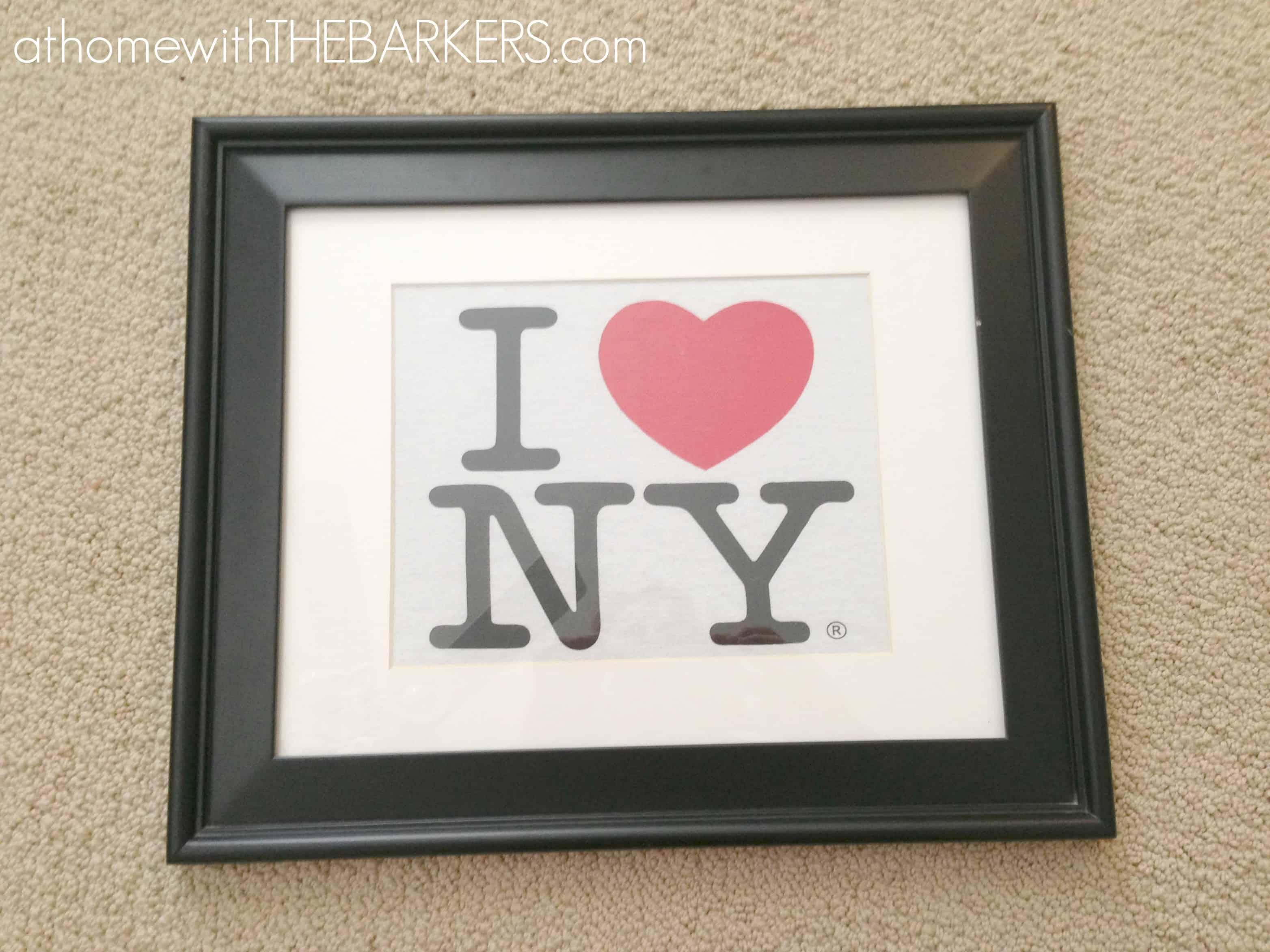 I Heart NY Artwork Tutorial