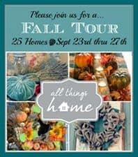 All Things Home Fall Tours and A Giveaway