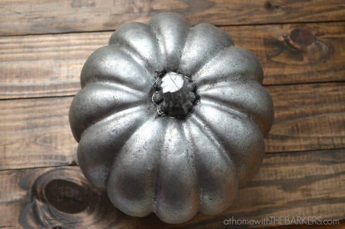 Aged Zinc-Pumpkin