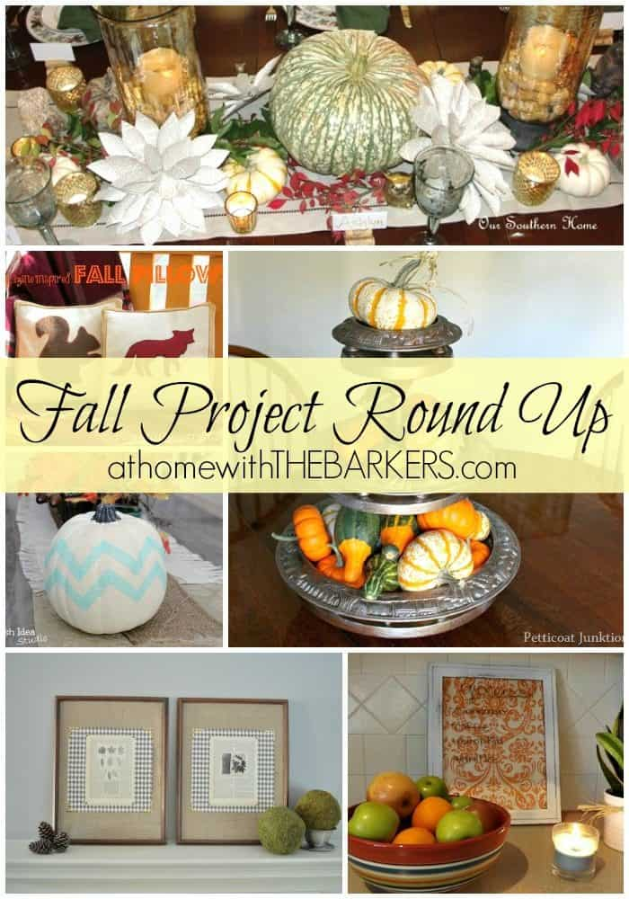 Fall Projects Round Up