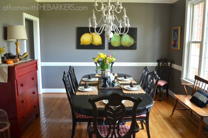 Fall Tour Dining Room
