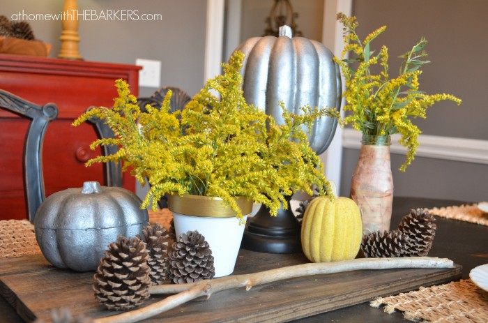 Fall Tour Dining Room Table
