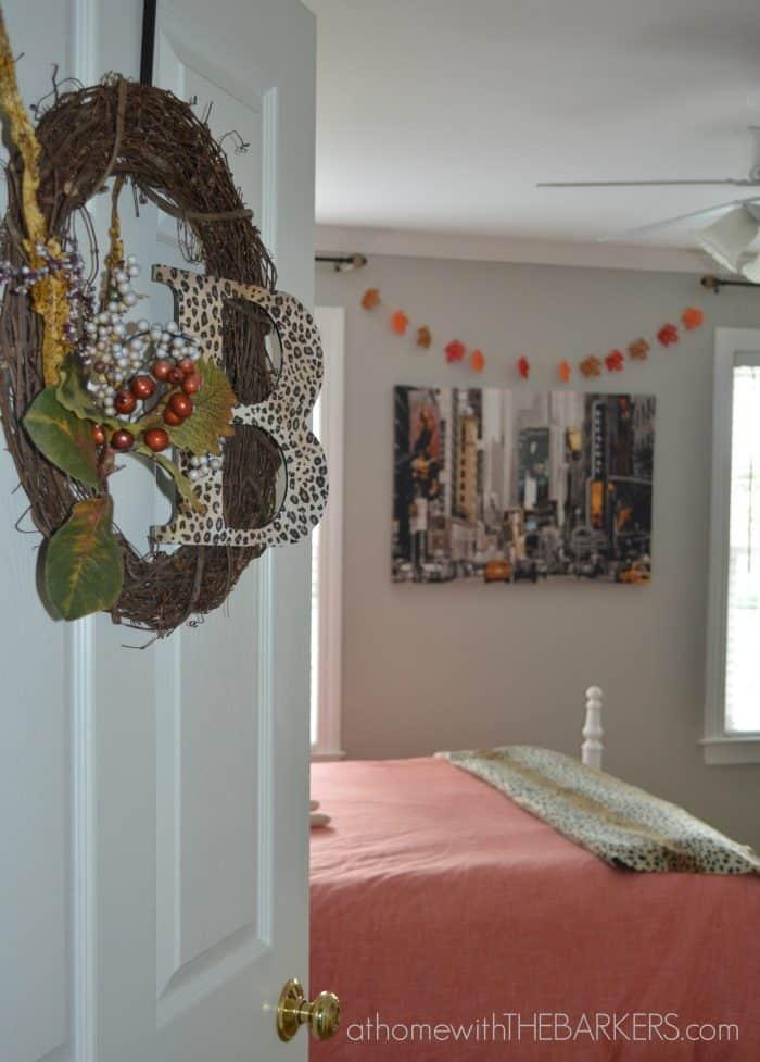 Fall Tour Girl Bedroom