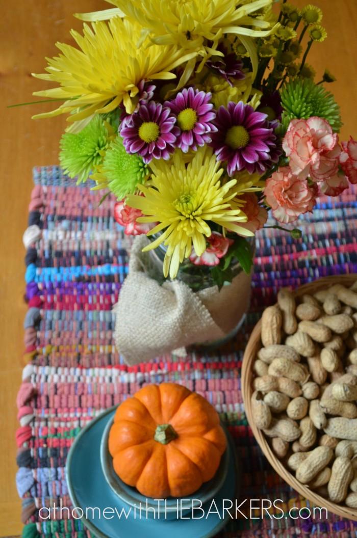Fall Tour Kithcen Table