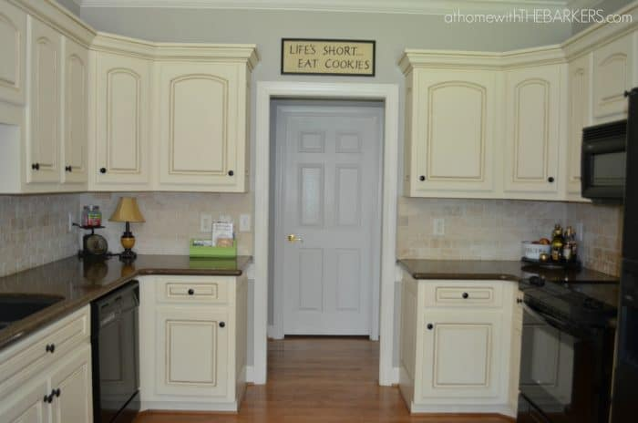 Kitchen Makeover Part 1 {the paint}
