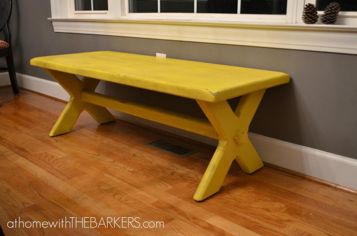 31 Days Bench Makeover - athomewiththebarkers.com