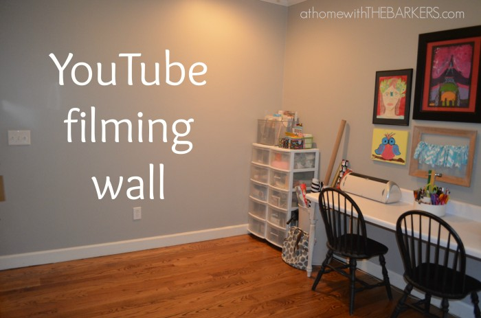 31 Days The Craft Room YouTube wall