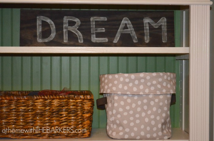 31 Days The Craft Room baskets