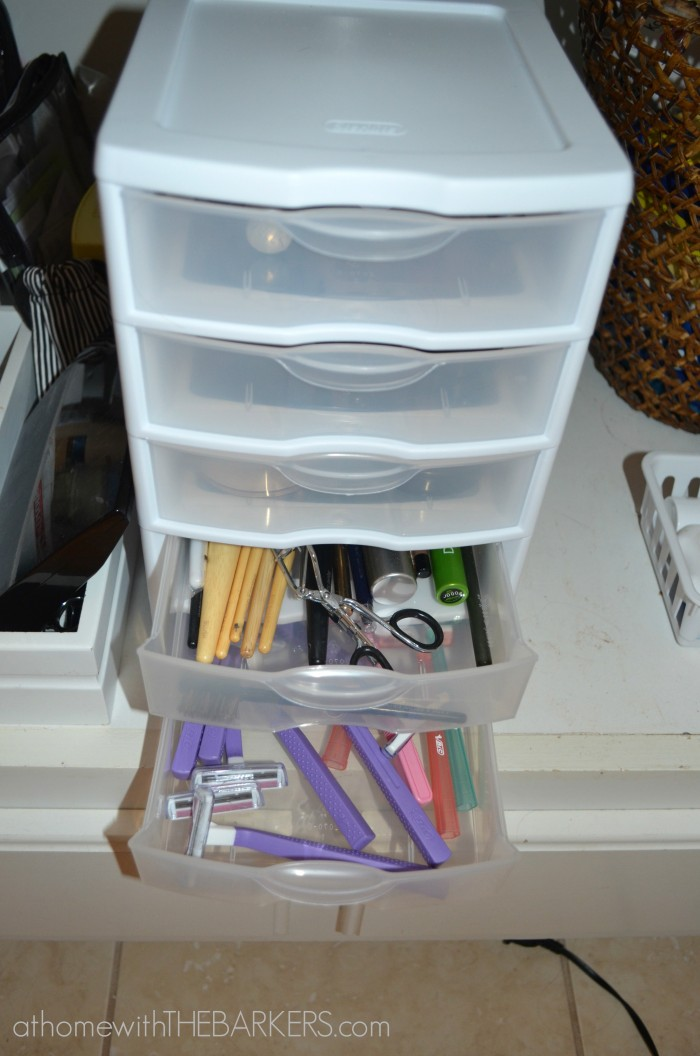 makeup organizer drawers walmart. bathroom sinks walmart 31 days under the sink - at home with barkers makeup organizer drawers