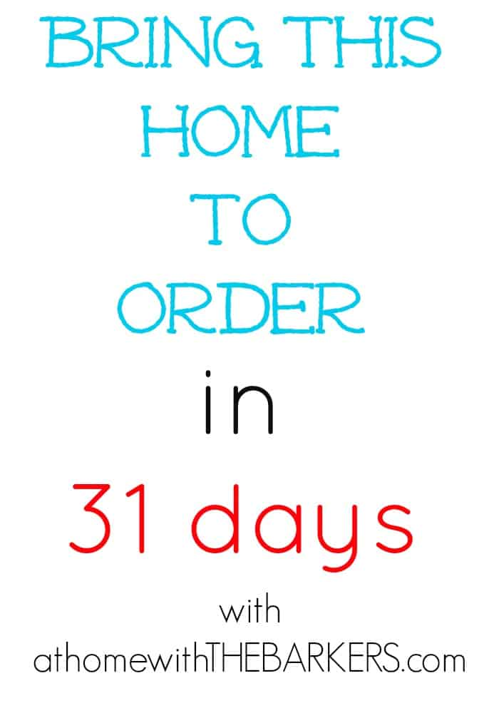 Bring the home to Order in 31 days