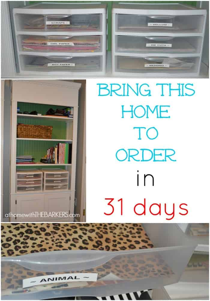 31 days scrapbook paper storage craft room at home for Craft room paper storage