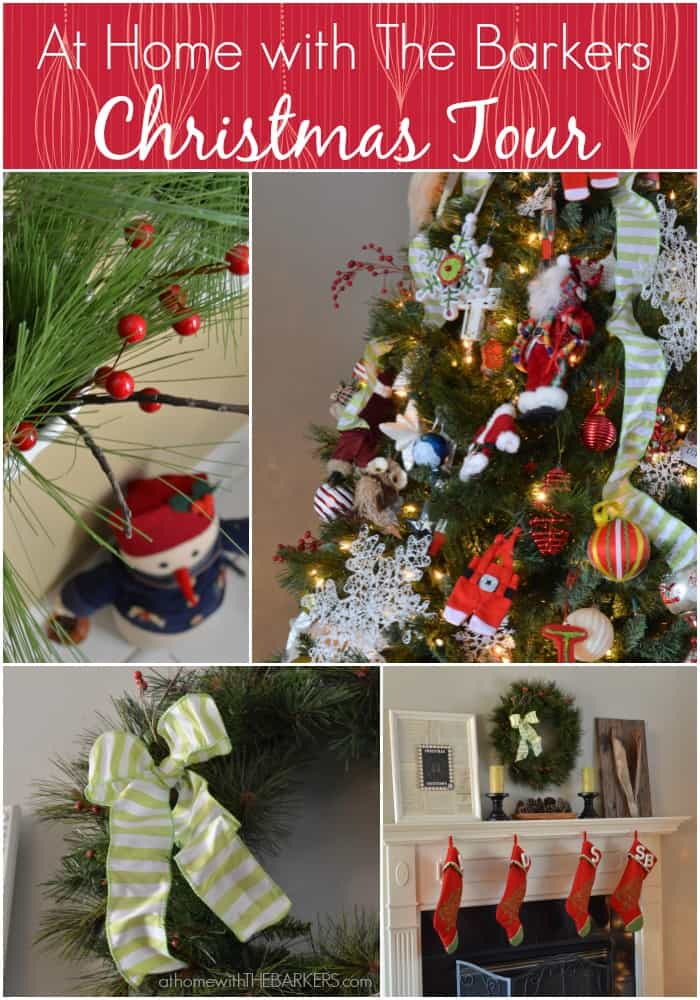 Christmas Tours.Christmas Home Tour At Home With The Barkers