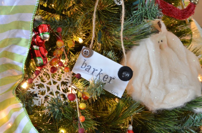 Christmas Tour Barker Ornament
