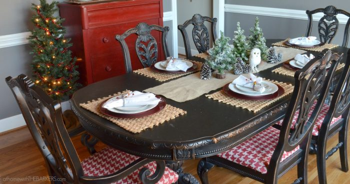 Christmas Tour Dining Table