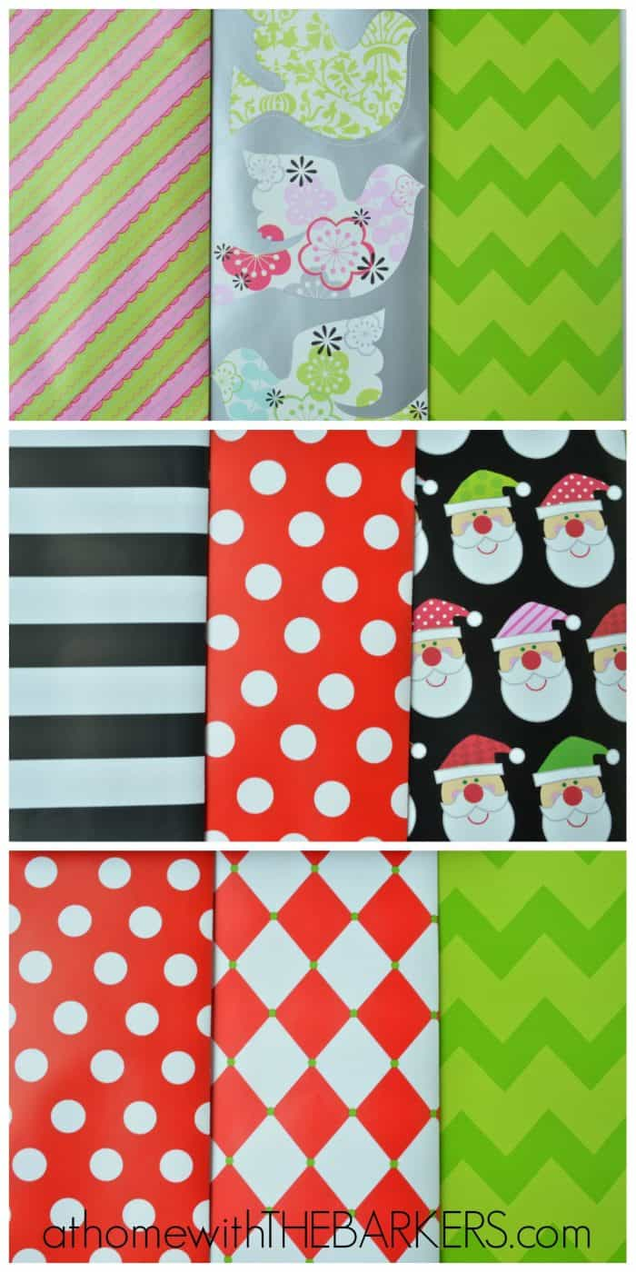 Gift Wrap Coordinating